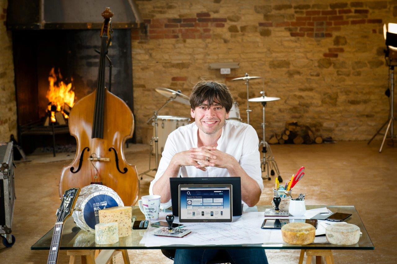 O2 helps small businesses work smarter with Alex James