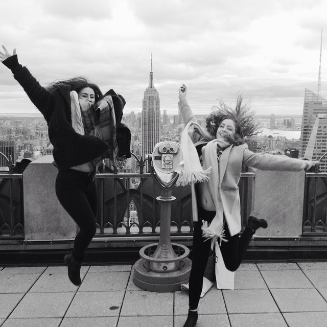 Top of the Rock. @CaoilfhionnRose