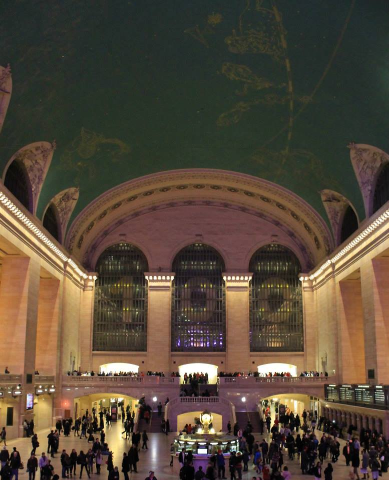 Grand Central Station. @CaoilfhionnRose