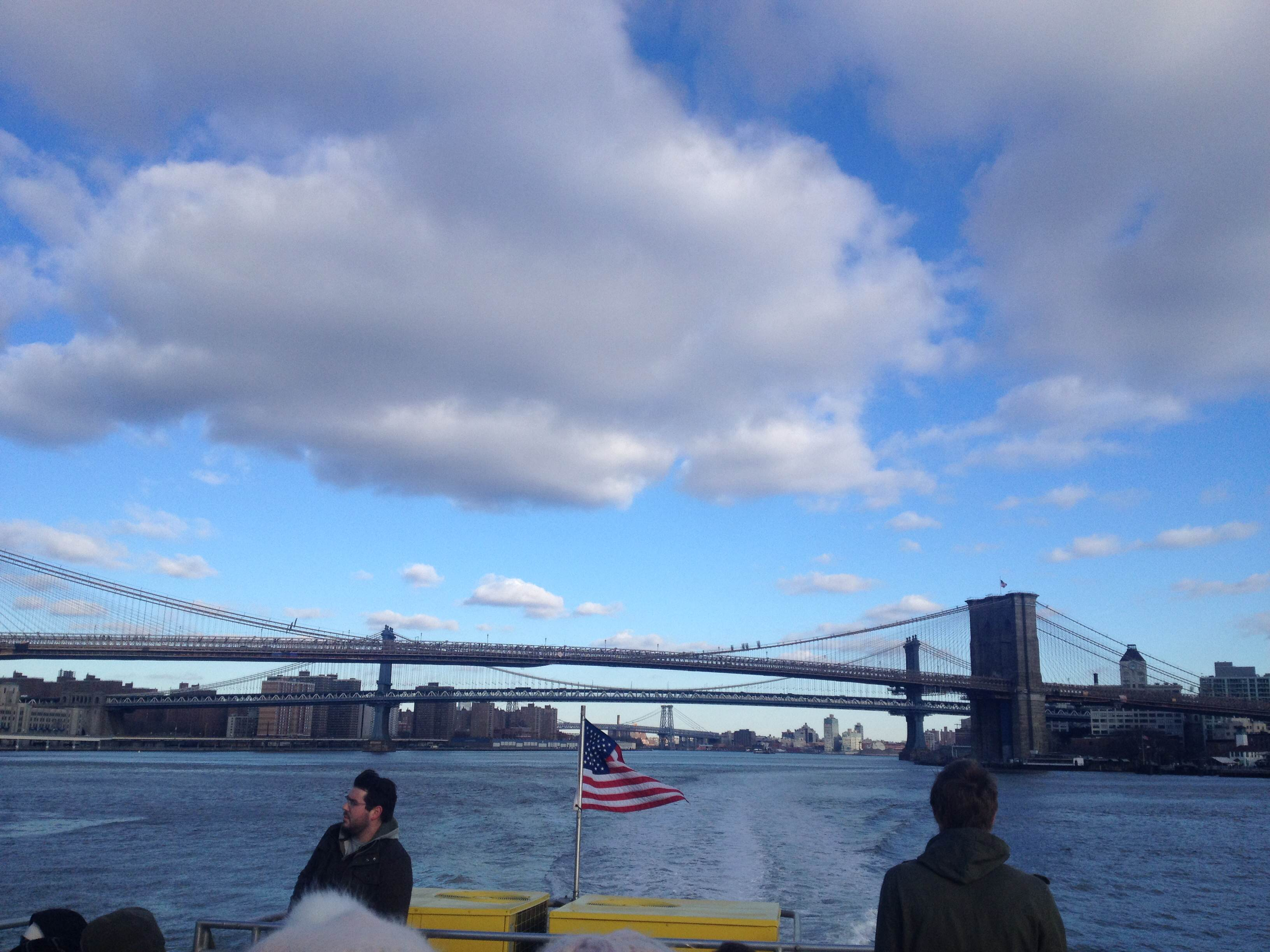 View from the East River Park Ferry  @CaoilfhionnRose