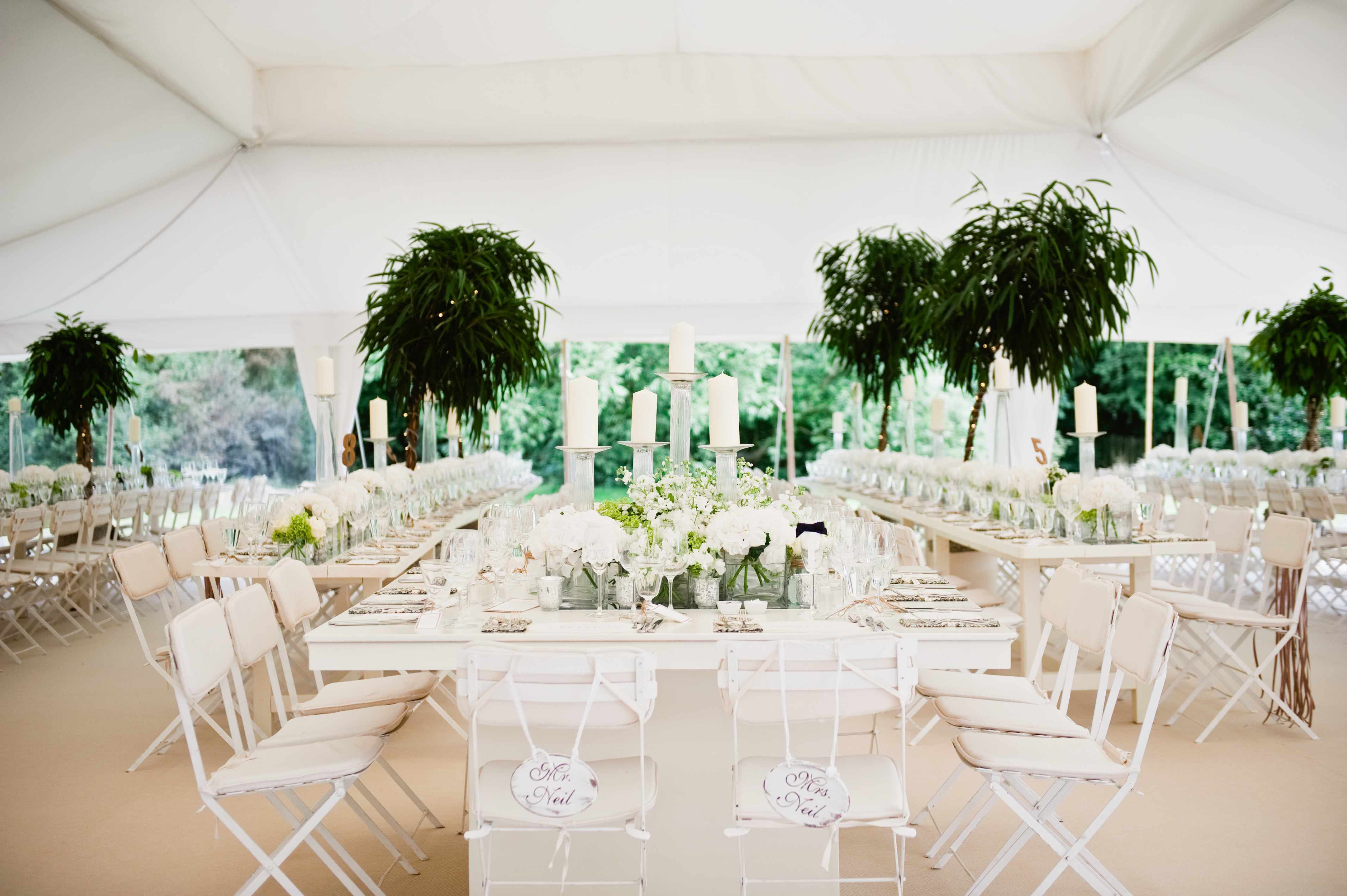 Tip 4 - Go Green - foliage in the Pearl Tent 3
