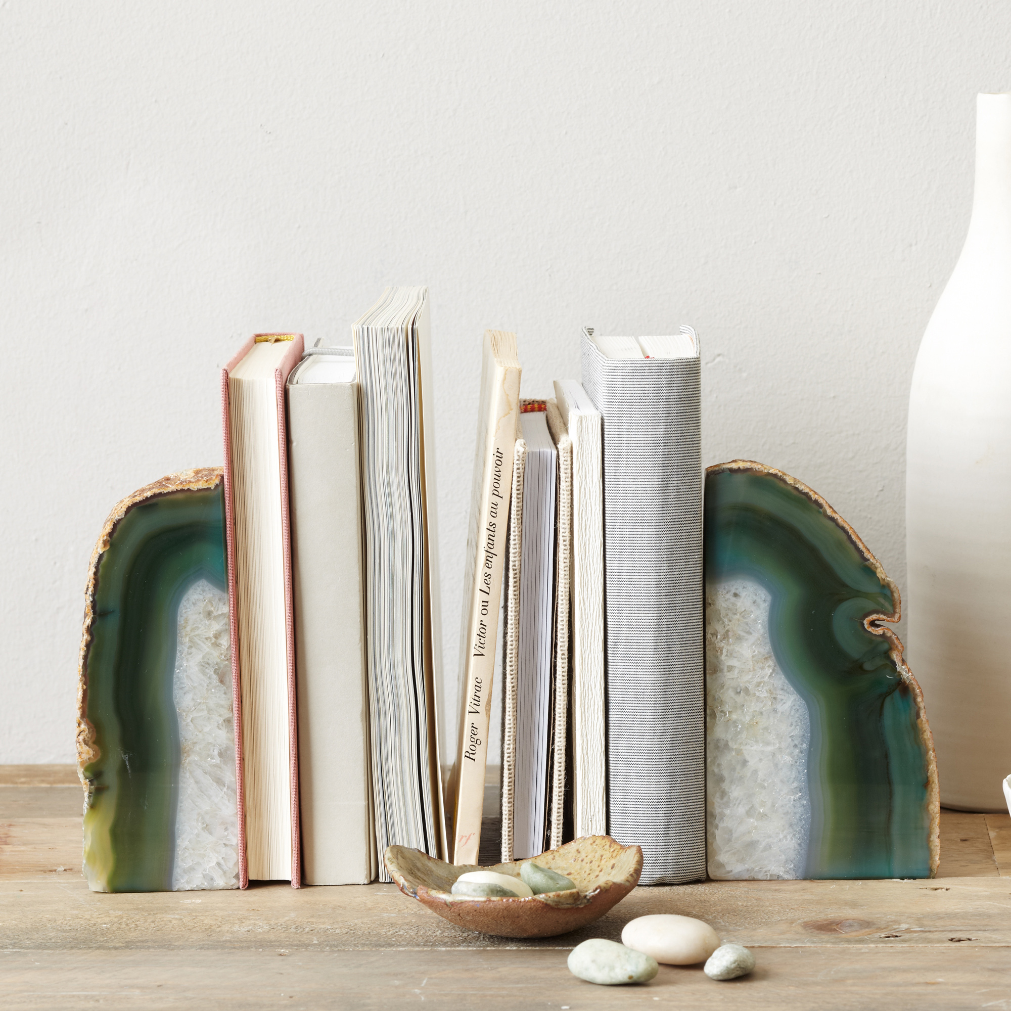 Agate Bookends, £19-£24, www.westelm.co.uk