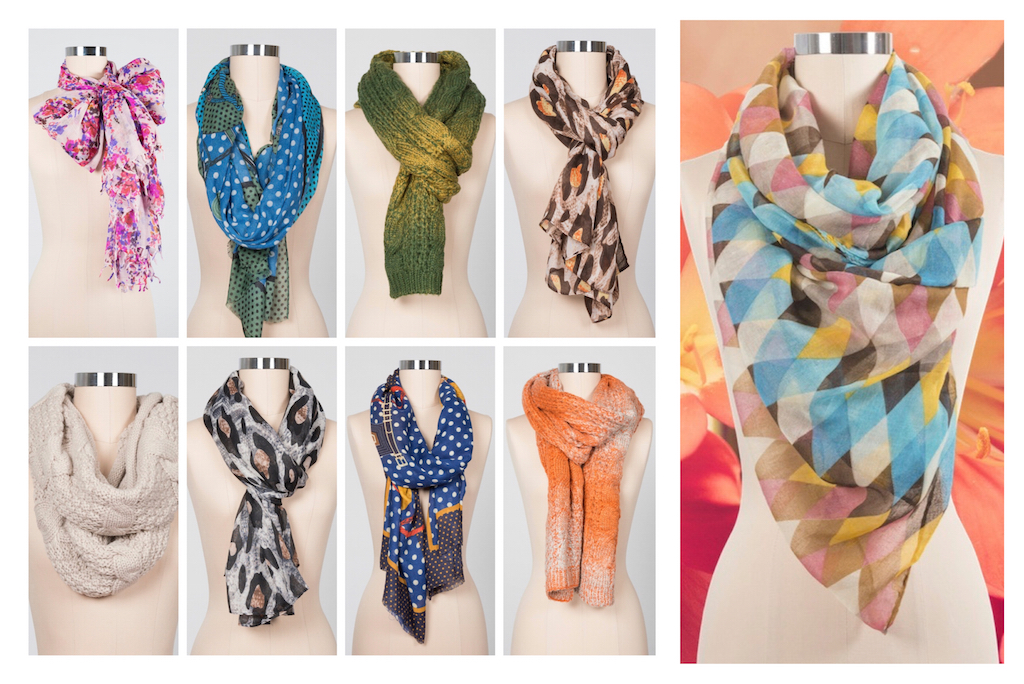 Super Amazing Knit & Print Scarves