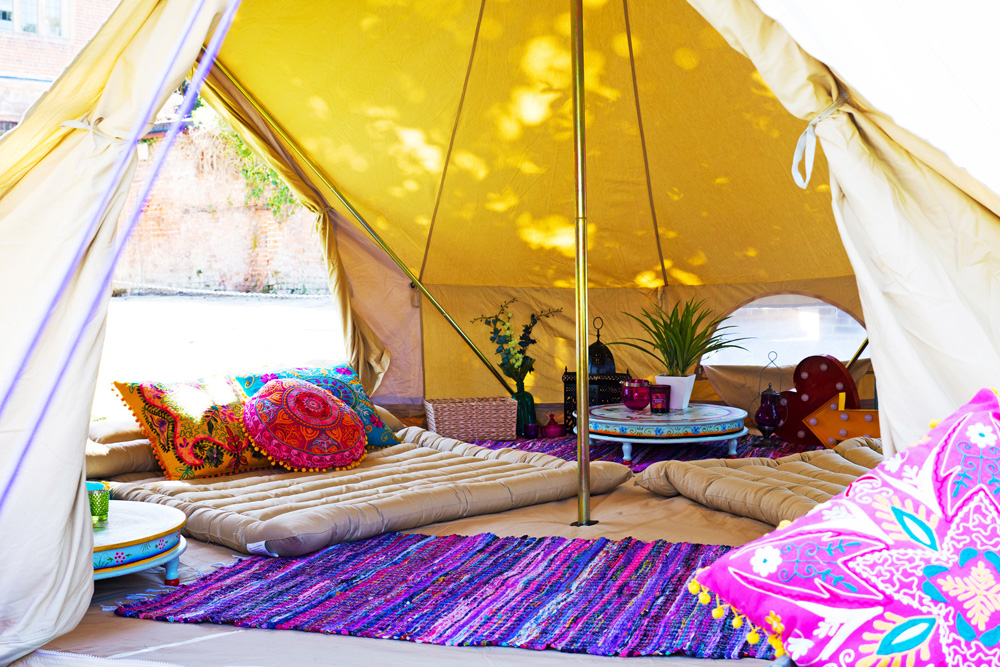Who Needs A Hotel When You Can Go Boutique Camping ...