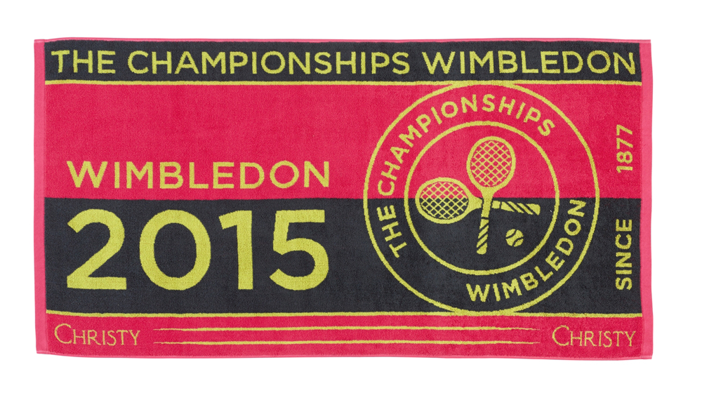 Christy Wimbledon Ladies Championship towel