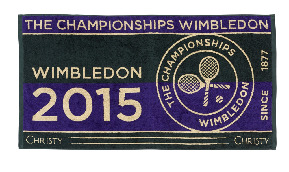 Christy Wimbledon Mens Championship towel