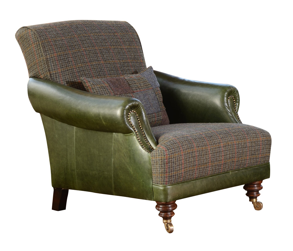 Harris Tweed Hebrides Gents Chair