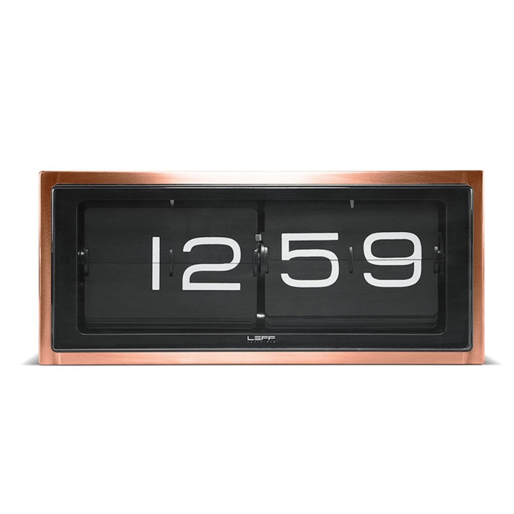 Retro Design Brick Clock