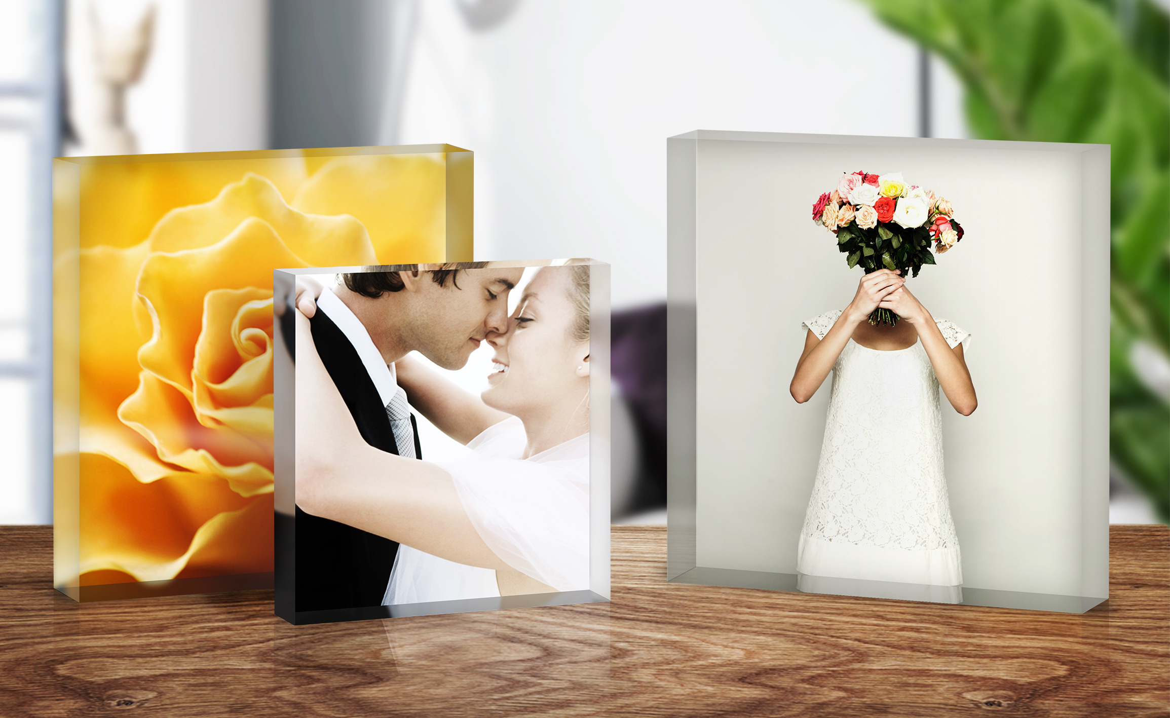 Acrylic Block_Wedding © WhiteWall.co.uk
