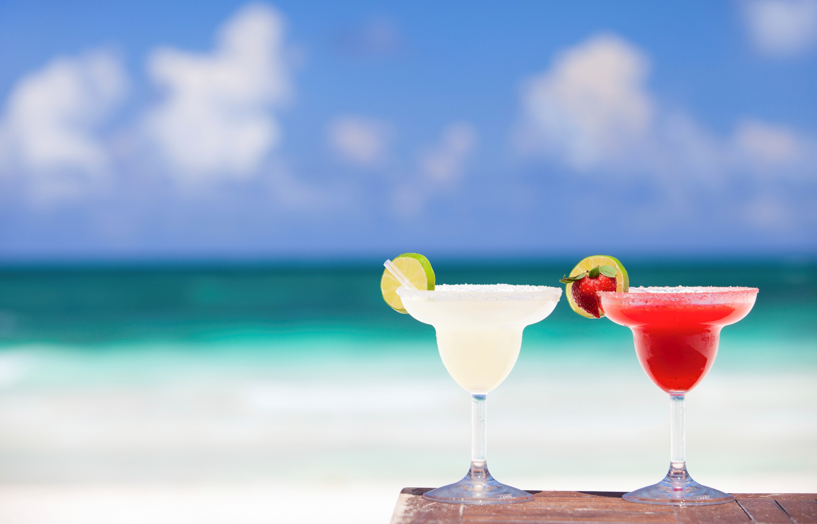 Cocktails in the Caribbean