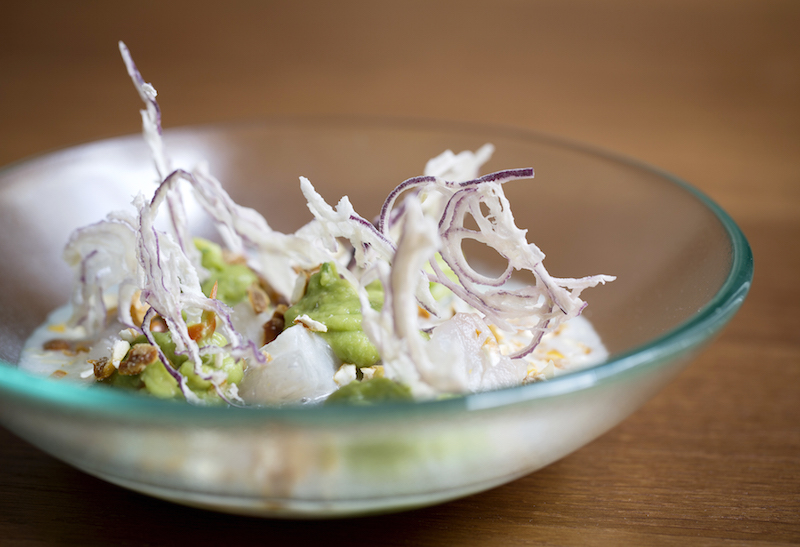LIMA Floral_Long lunch_Sea bream ceviche