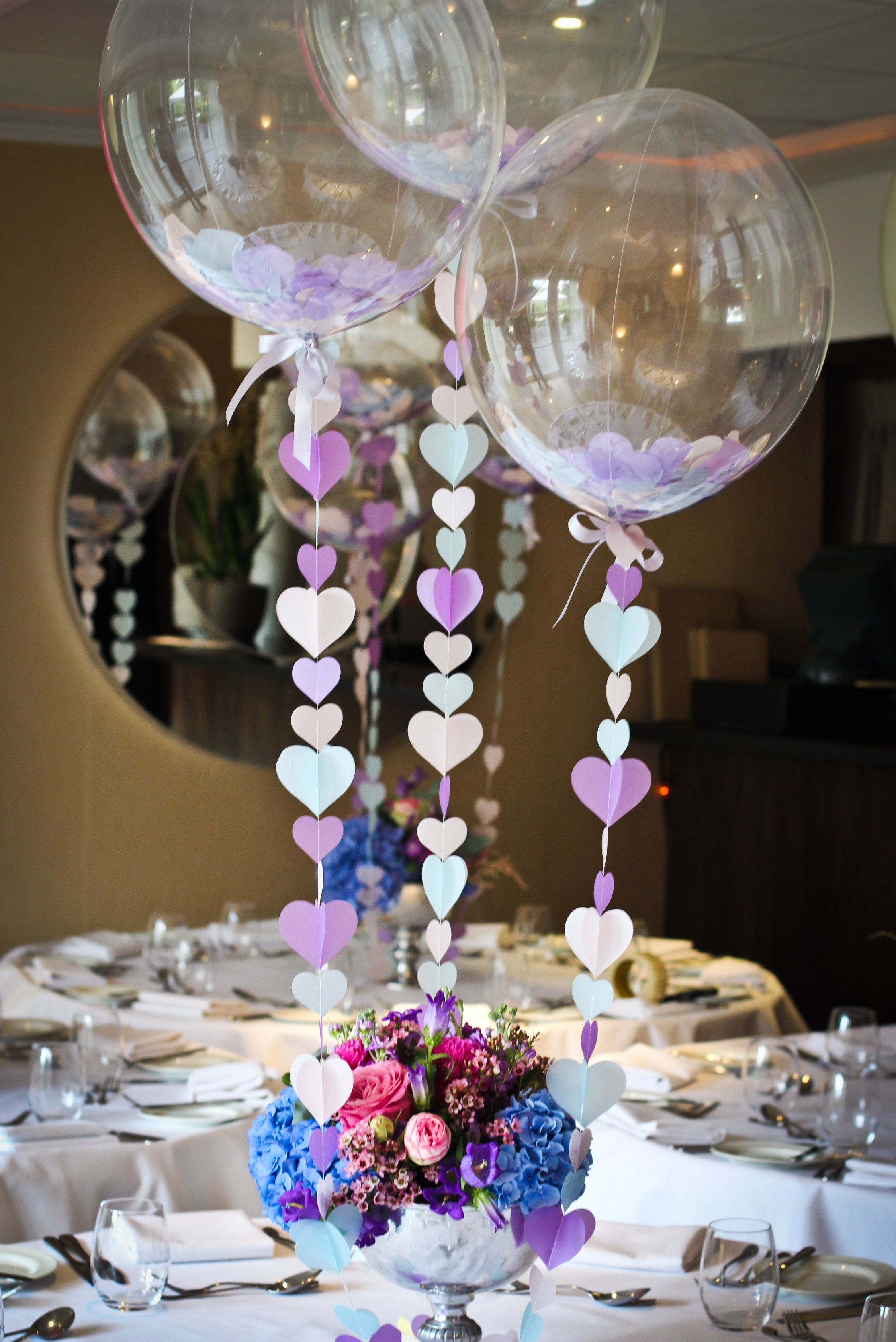 Blow wedding guests away with balloon décor house of coco