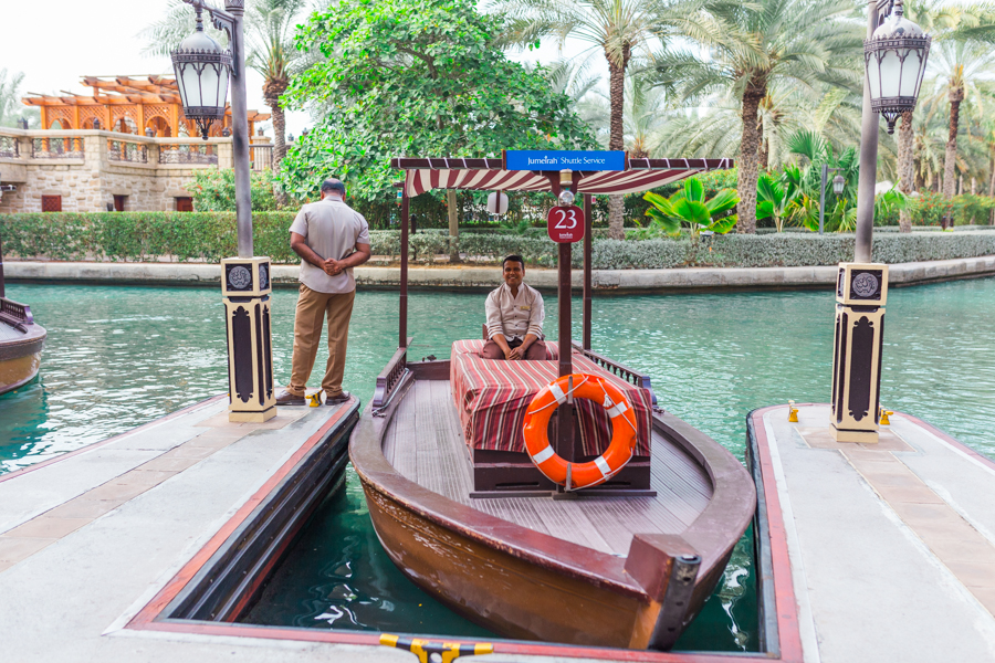 Abra Tour at Madinat Jumeirah | © Eulanda Shead