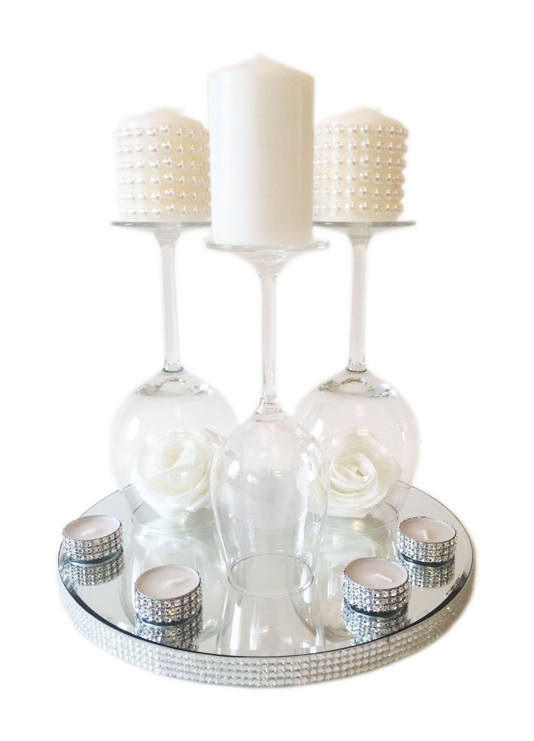 A Wine Glass Centrepiece