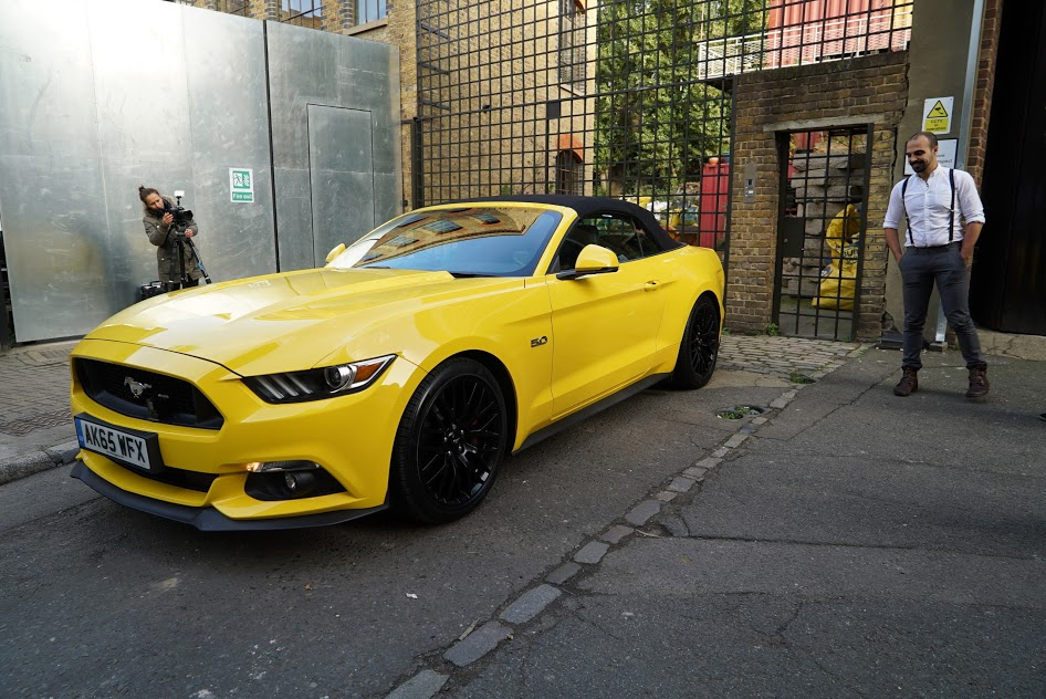 Mustang Blind Dating