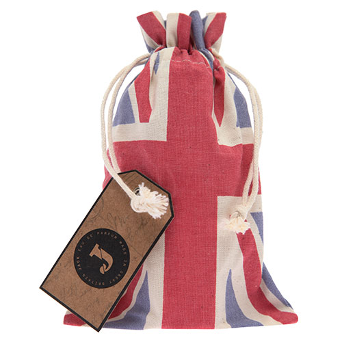 Union Jack Drawstring Bag - Jack Perfume