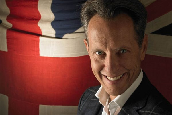 Actor Richard E Grant talks to #TeamCoco about his luxury fragrance range