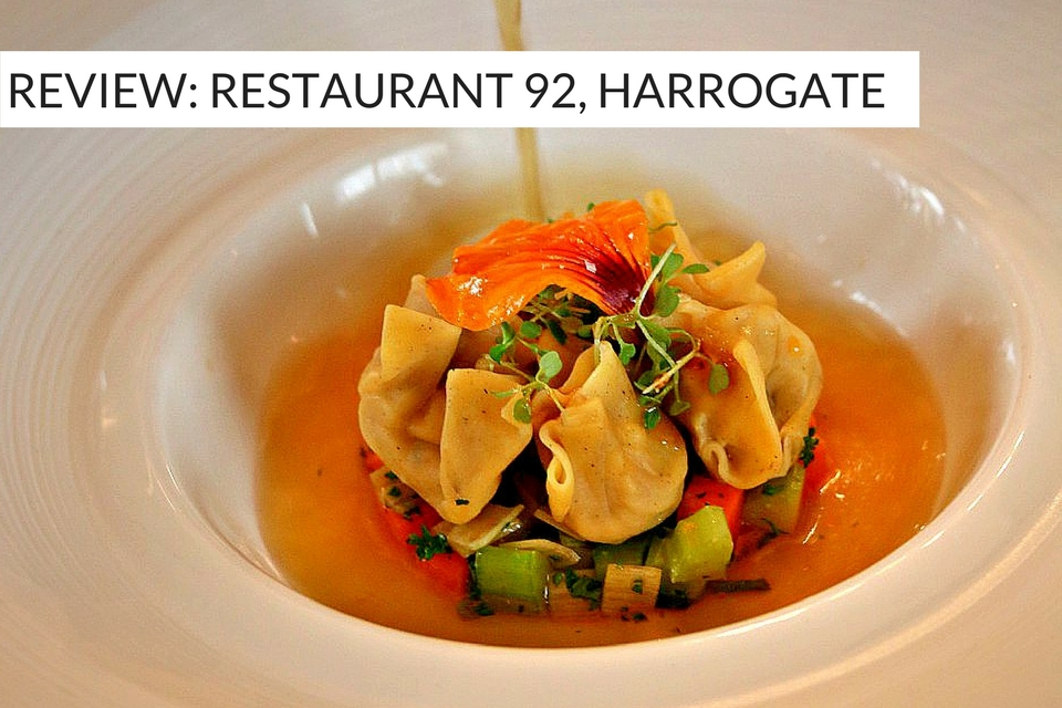Restaurant 92 Harrogate Review - Yorkshire Food Guide