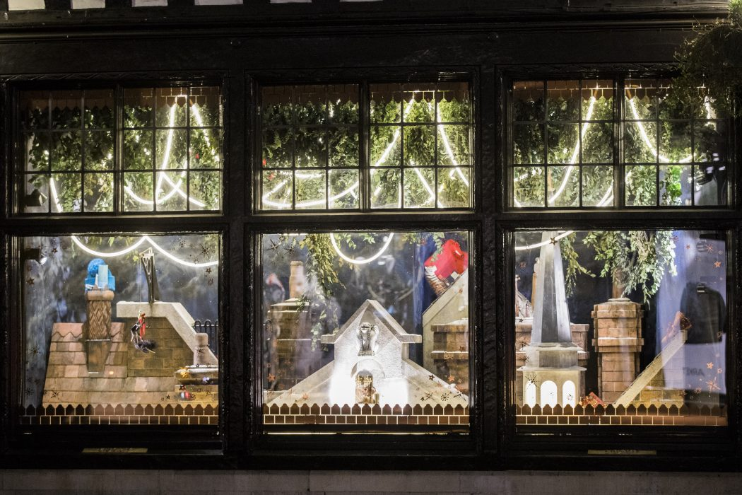 Christmas Window.Festive Feels The Best Christmas Window Displays 2017