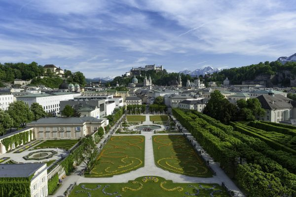 Mirabell Gardens, Sound of Music, Salzburg, Austria, Travel, Film, Cocotravel