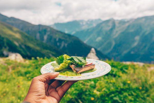 Gastronomy in the Alps