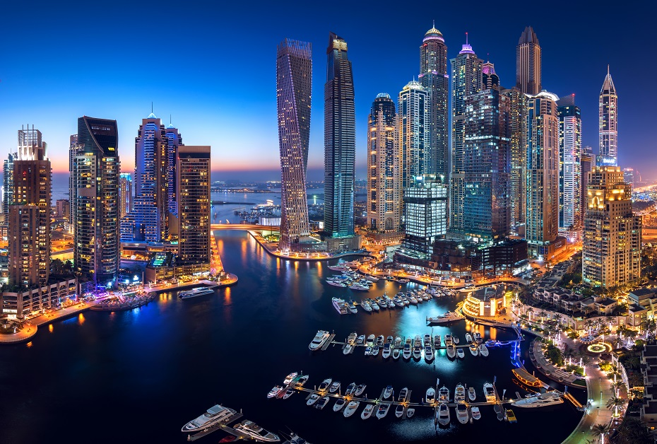 Dubai hotels - The Address Dubai Marina