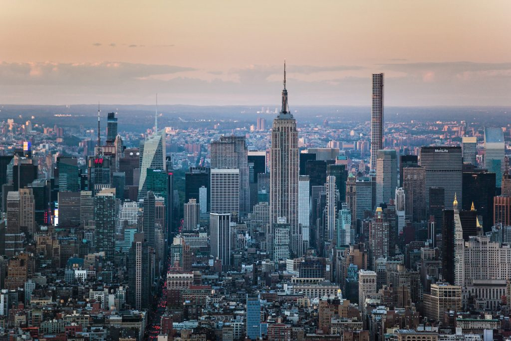 New York observation decks: One World Observatory