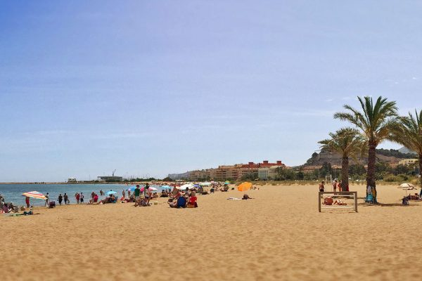 Spanish beach destination