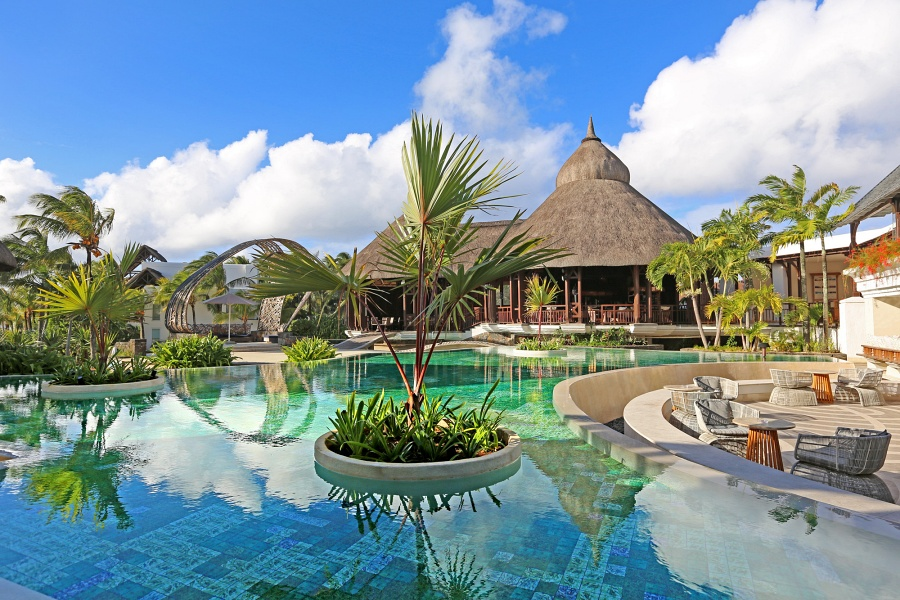 View of Shangri-La's Le Touessork Resort & Spa Mauritius