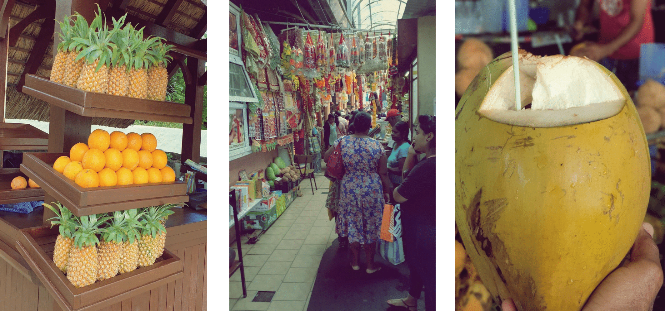 Visit to Central Flacq Market, Mauritius