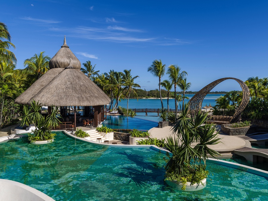 View of Shangri-La's Le Touessork Resort & Spa, Mauritius