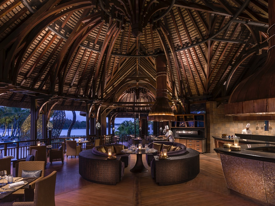 Safran Restaurant at Shangri-La's Le Touessork Resort & Spa, Mauritius