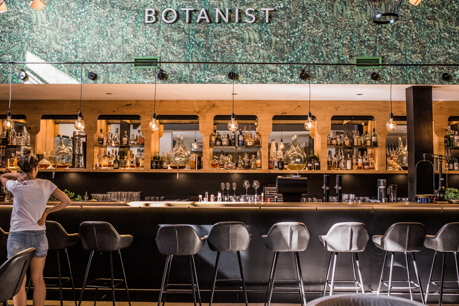 View of The Botanist, bar at Hotel Forsthofgut Leogang | Naturhotel | Austria