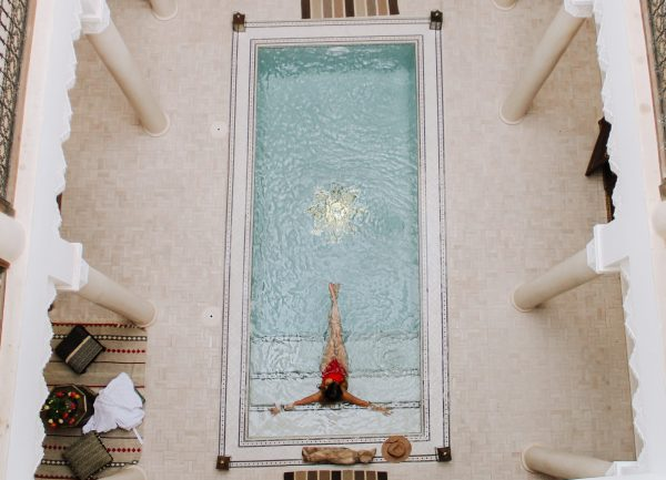 Riad Spice pool Marrakech