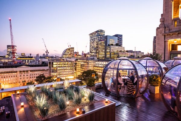 Aviary Igloos, London